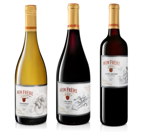 Introducing Mon Frère Wines from California | PalmBay