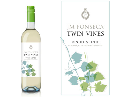 Twin Vines Bottle and Label