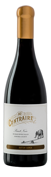 Au Contraire Pinot Noir - Dutton Ranch bottle
