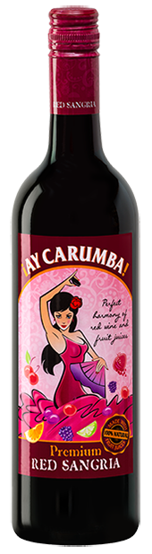 Ay Carumba Premium Red Sangria bottle
