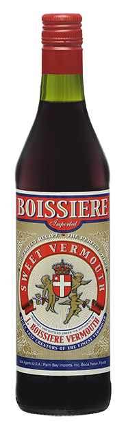 Boissiere Vermouth Sweet Vermouth bottle