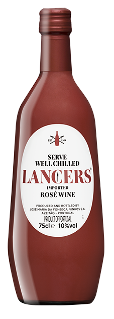 Lancers Rose bottle