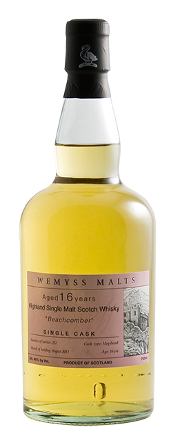 Wemyss Scotch Malts Beachcomber - 1,6 Year Old bottle
