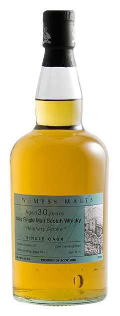 Wemyss Scotch Malts Heathery Smoke - 30 Year Old bottle