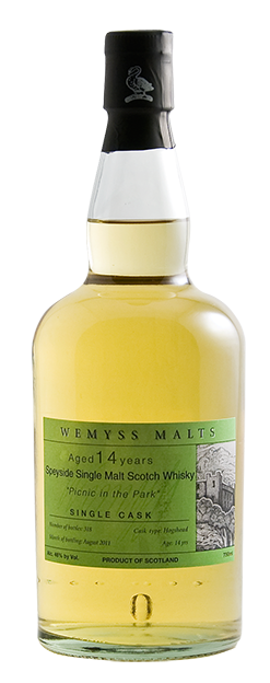 Wemyss Scotch Malts Picnic in the Park - 1,4 Year Old bottle
