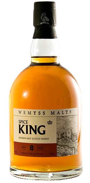 Wemyss Scotch Malts Spice King 8 Year Old bottle