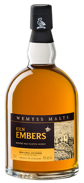 Wemyss Scotch Malts Limited Edition 'Kiln Embers' bottle