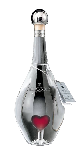 Alexander Grappa Heart Bottle