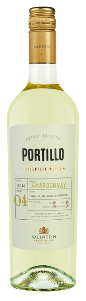 Portillo Chardonnay bottle