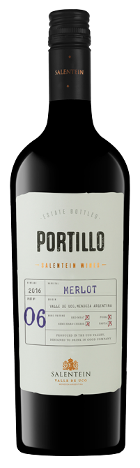 Portillo Merlot bottle