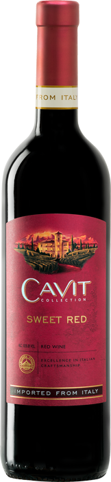 Cavit Sweet Red Bottle