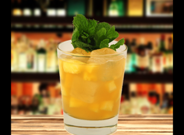 Brandy Pineapple Smash