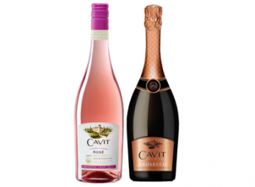 Introducing Cavit Limited Edition Rosé and Cavit Prosecco