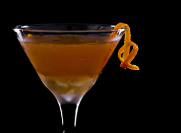 Salted Caramel Manhattan