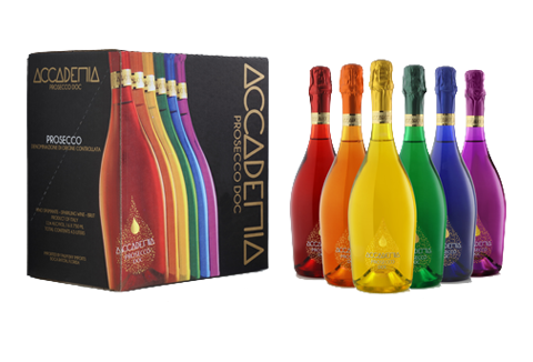 Introducing Accademia Prosecco Rainbow Collection