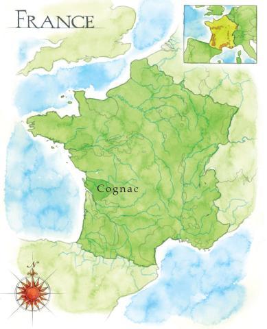 Cognac Region Of France Map.Bastille 1789 Whisky Palmbay