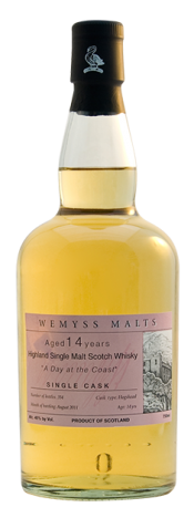 Wemyss Scotch Malts A Day at the Coast - 14 year old bottle