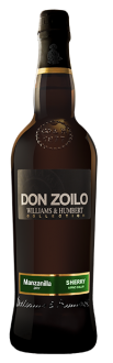 Don Zoilo Collection Manzanilla bottle