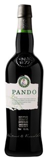 Pando Sherry Pando Fino bottle